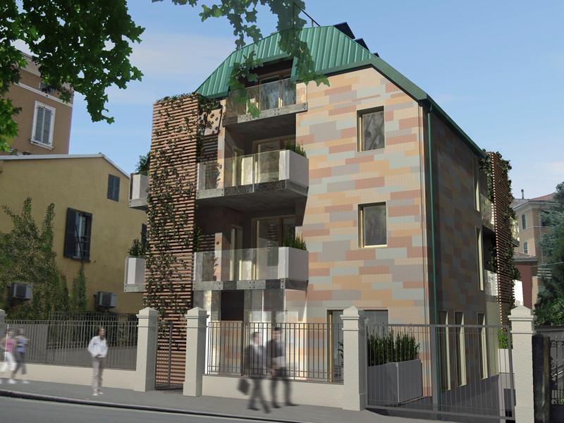 edificio residenziale a Parma,