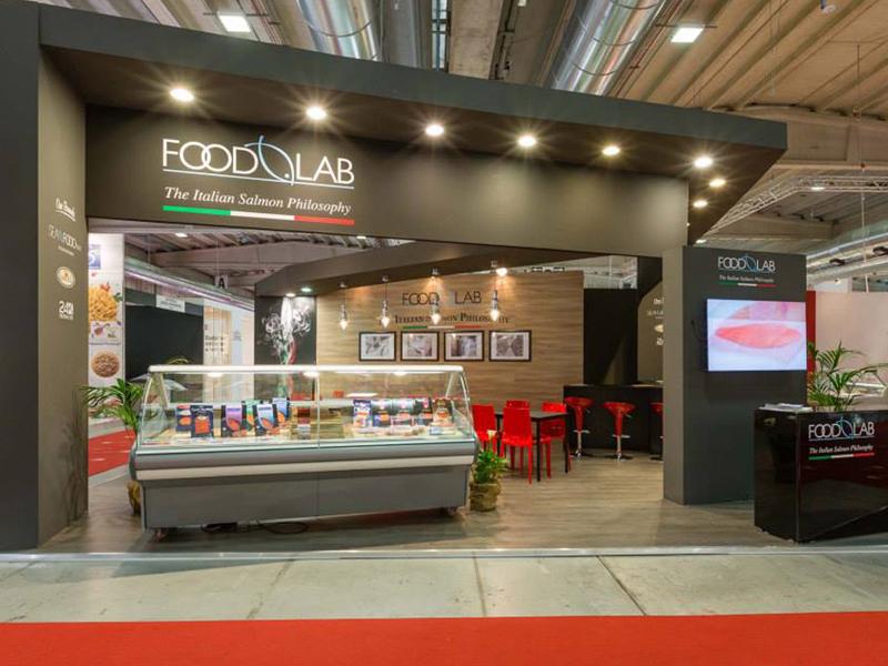 """Stand fieristico """"Foodlab"""""""