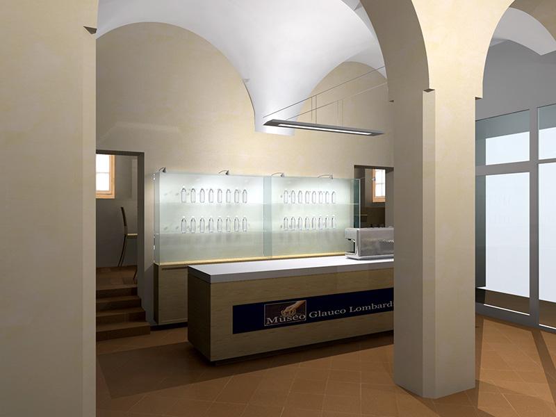 02 bookshop e ingresso museo glauco lombardi parma